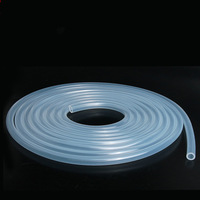 5M 10M Silicone Rubber Tube 7X10mm Transparent Clear Pipe Hose Medical Plumbing Food Grade Silica Gel Plumbing Hoses