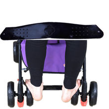 Baby Footrest Stroller Footboard Foot Treadle Foot Rest Pedal Lightweight Plastic Premium Quality Black Baby Carriage(China)
