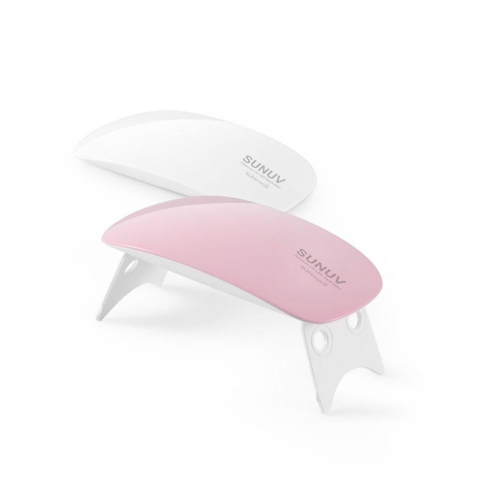 lampe uv nail dryer sunuv sunmini 6w mini portable nail. Black Bedroom Furniture Sets. Home Design Ideas