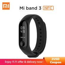 Original Xiaomi Mi band 3 NFC Version 0.78″ OLED Big touch Screen 2018 New Smart Wristbands Bracelet