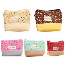 Fashion Pastoral Style Coin Purses Women Wallet Small Cute Credit Card Holder Key Money Bags For Ladies Purse Kids Zipper Pouch стоимость