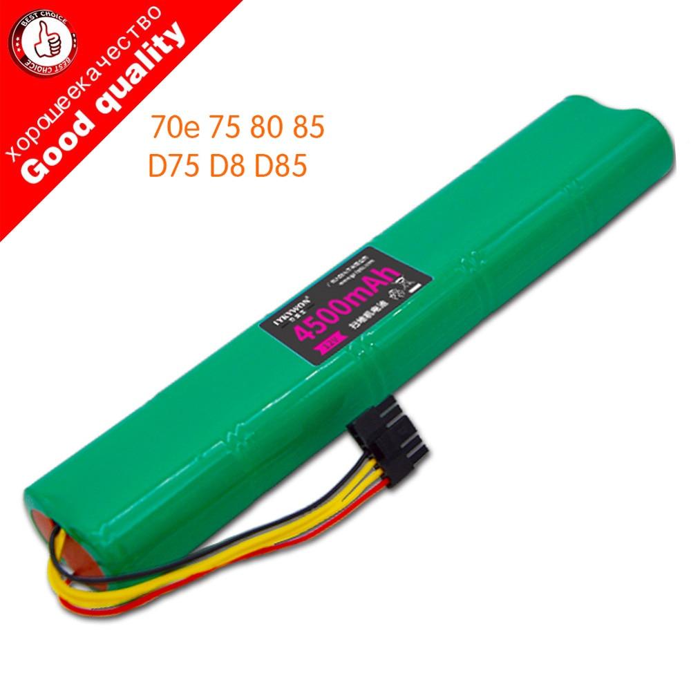 Ni-mh 12 v 4500 mah bateria de substituição para neato botvac 70e 75 80 85 d75 d8 d85 bateria aspirador bpfire