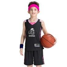 6cca613113d Children s basketball suit boys sport clothing kids custom group sport set summer  kids clothing(China