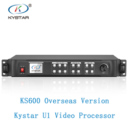 Kystar U1 LED video processor KS600 English version with linsn TS802D or novastar MSD300 full color LED display video processor