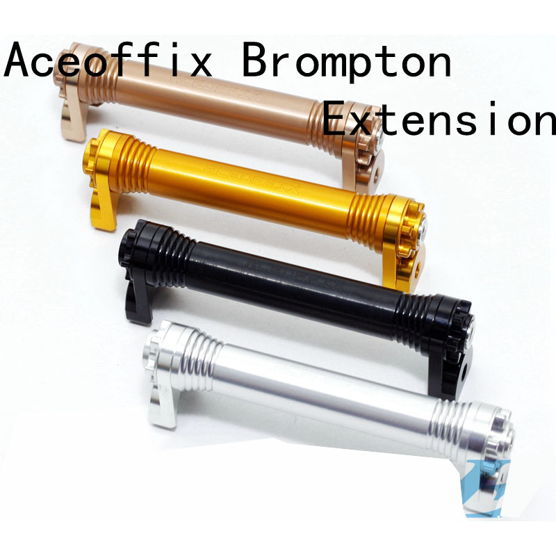Folding Bicycle Racks Easy Wheel Extension Block font b Telescopic b font Rod for Brompton