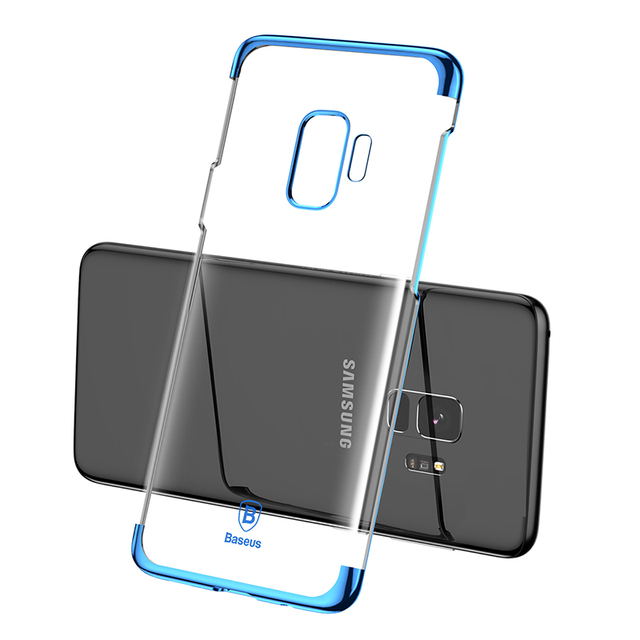 Baseus Samsung Galaxy S9 S9 Plus Luxury Plating Hard Plastic Back Case Cover