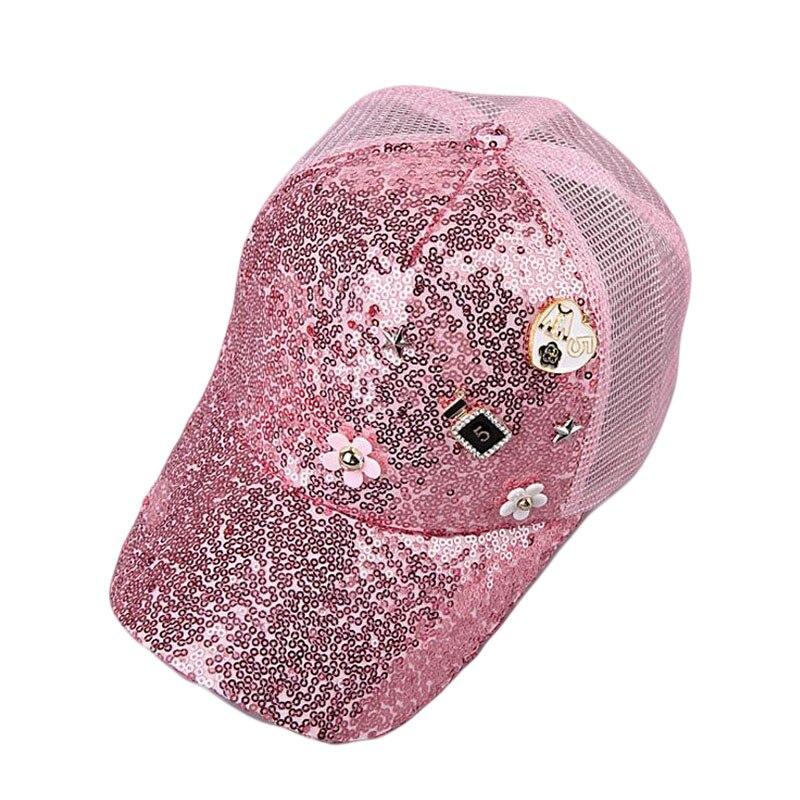 BINGYUANHAOXUAN Fashion Summer Mesh Hat Child   Baseball     Cap   Snapback Hat For Boy Snapback   Caps   Bling Bling Hip Hop Hat Sun   Cap