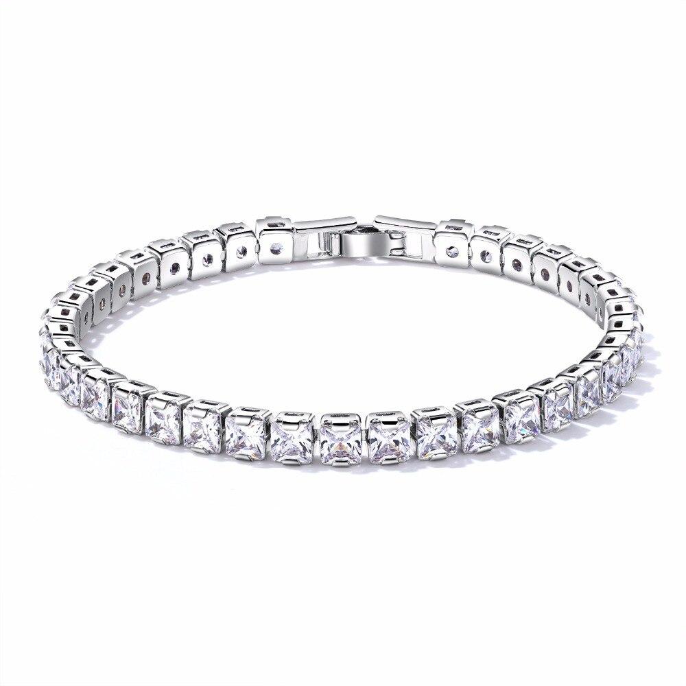 Купить браслеты женские с фианитами элегантные ювелирные украшения