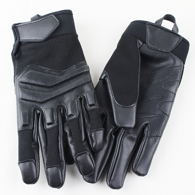 Tactical Men Full Finger Gloves Hunting Shooting Gloves Cycling Antiskid Full Finger Mittens M  L XL Sizes|Hunting Gloves| |  - title=