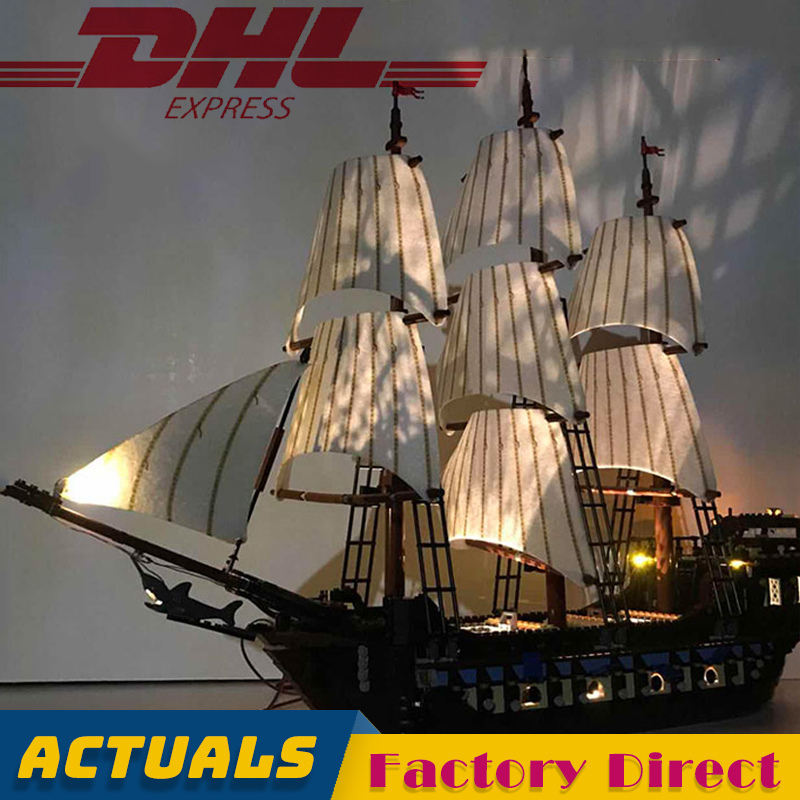 Imperial Flagship 22001 Creator Expert Building Blocks Pirates Sailing Warship with Light DIY Model Bricks Toy LegoINGlys 10210Imperial Flagship 22001 Creator Expert Building Blocks Pirates Sailing Warship with Light DIY Model Bricks Toy LegoINGlys 10210