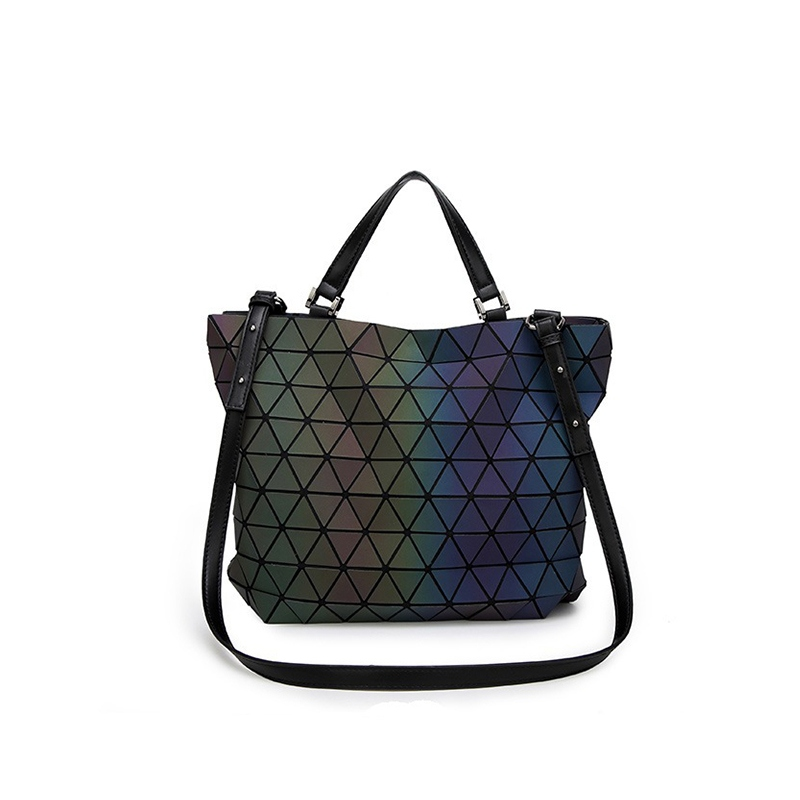 2017 Lady Bags Handbags Women Famous Brands Luminous Bao Bao Issey Miyak Bag women's Big European Geometric Baobao Hand Bag