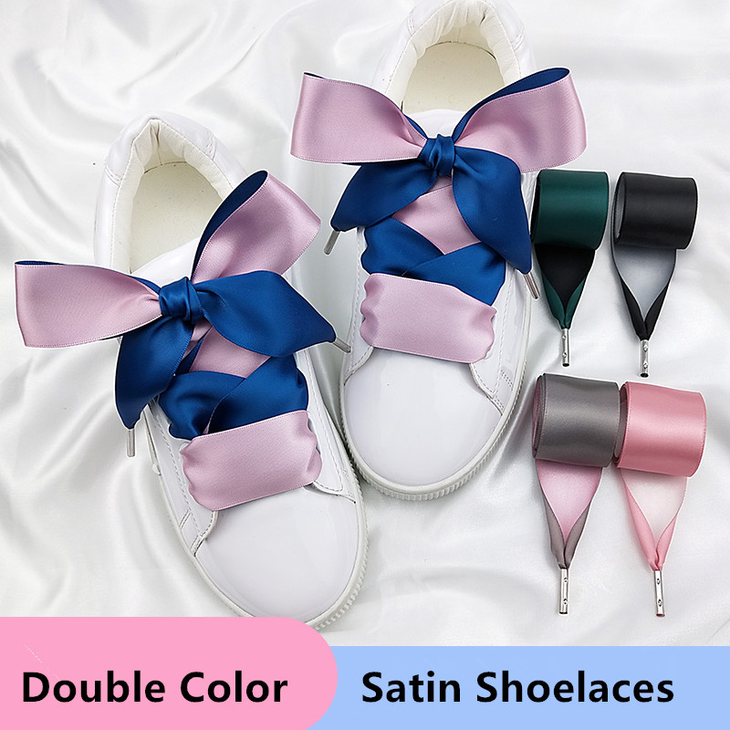 10mm double faced satin ribbon Satin ribbon corset lacing replacement lacing lacing tipped with metal aglets  -WILD ROSE PINK-