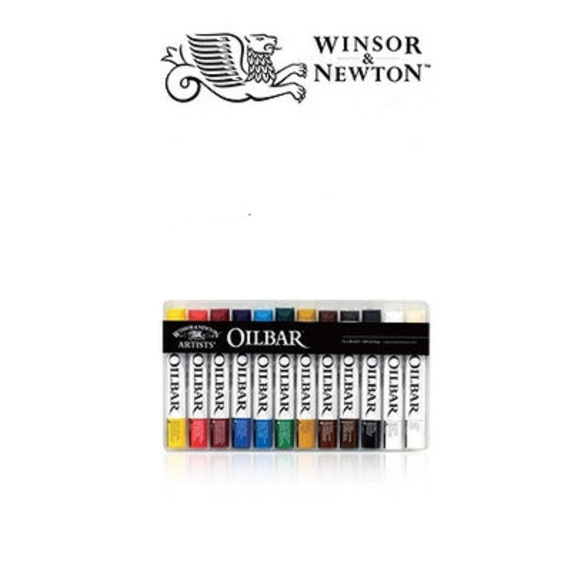 Free shipping Windsor Newton artist solid oil painting pigment OILBAR 12 color Portable oil paints spark m a far cry from kensington