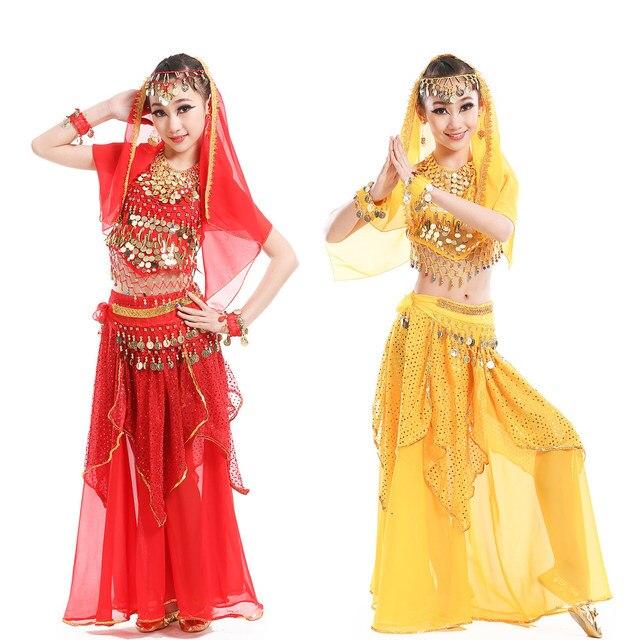 4f596f649 Belly Dance Costumes for Kids Girls Children Belly Dance Skirt ...
