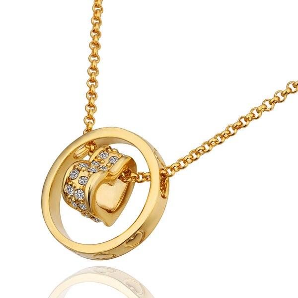 Designer heart pendant gold color necklace women zircon jewelry designer heart pendant gold color necklace women zircon jewelry pendants pendulum cameo bijouterie pingente india aloadofball Image collections