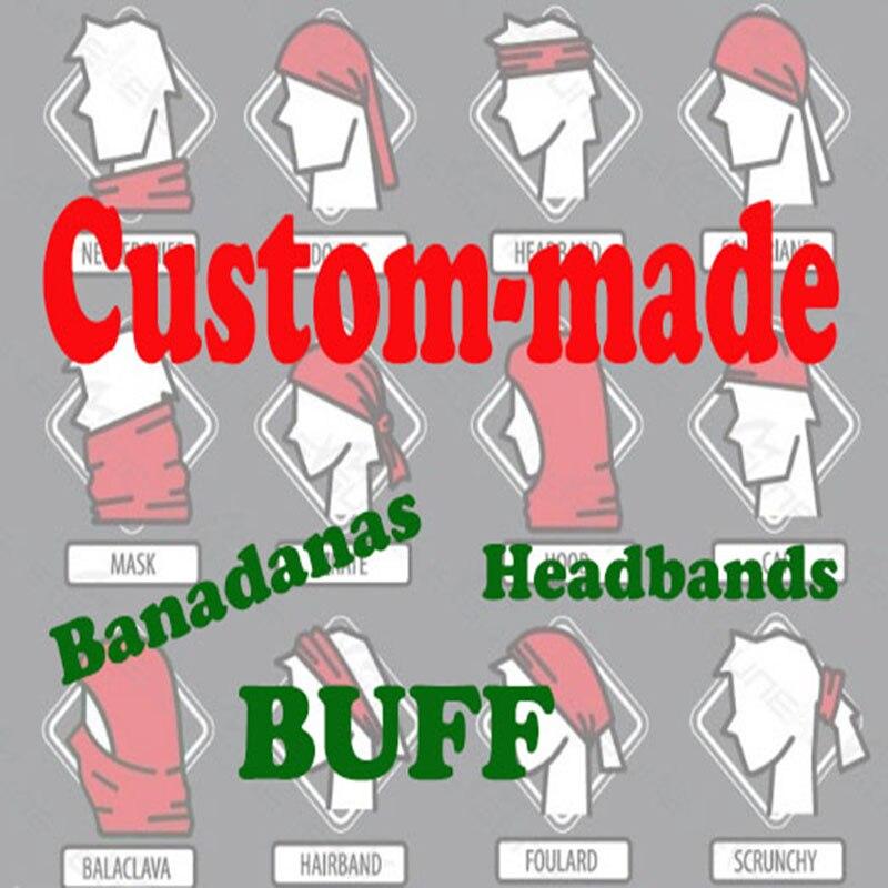 Customized Tube Neck Gaiter Bandana 6dbb73627cf6
