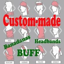 Customized Tube Neck Gaiter Bandana, Seamless Bandana Supplier OEM 3D Printed Multifunctional Headwears Skiing Headband 200pcs