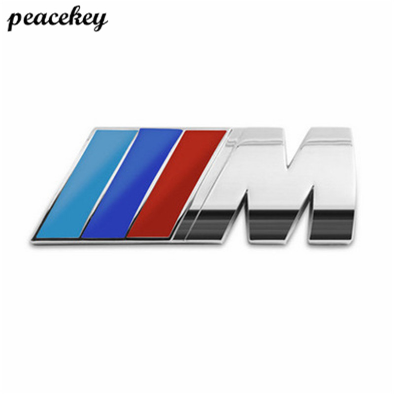 2 psc/lot Car Sport M Logo Fender Side Grill Badge Emblem ABS Stickers For M3 M5 E46 E36 E39 E30 E60 E90 F30 F10 E53 X3 X5 X6 cool car auto decoration badge stickers m logo metal 3d car sticker for bmw m3 m5 x1 x3 x5 x6 e36 e39 e46 e30 e60 e92 all model