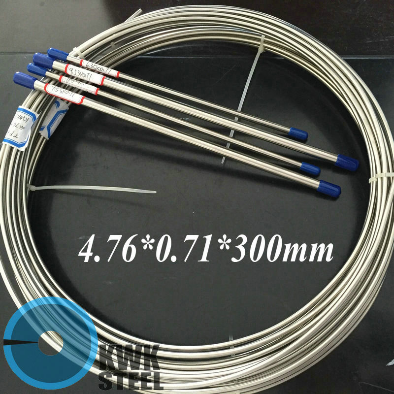 Seamless Stainless Steel Tube TP316L For Automobile & Yacht Brake Oil System Size OD 3/16