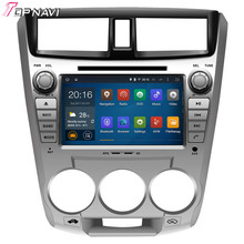 Quad Core Android 5.1 Car DVD Radio For CITY 1.5L 2008- For Honda With Wifi 16Gb Flash Mirror Link  GPS Wifi BT Map