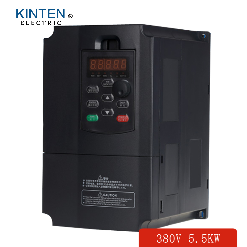 380v 5 5kw 3 phase 50hz vfd frequency ac motor drives for 3 phase vfd single phase motor