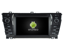 Android 5.1.1 CAR Audio DVD player FOR TOYOTA COROLLA 2014 gps Multimedia head device unit receiver BT WIFI