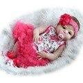 NPK COLEÇÃO 55 cm de Corpo Inteiro Brinquedos Realista Cheio de Silicone Boneca Reborn Vinil Recém-nascidos Bebês Da Menina Brithday Presente Banho brinquedo