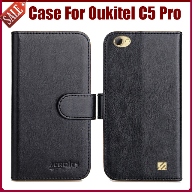 Hot Sale! Oukitel C5 Pro Case New Arrival 6 Colors High Quality Flip Leather Protective Cover For Oukitel C5 Pro Case