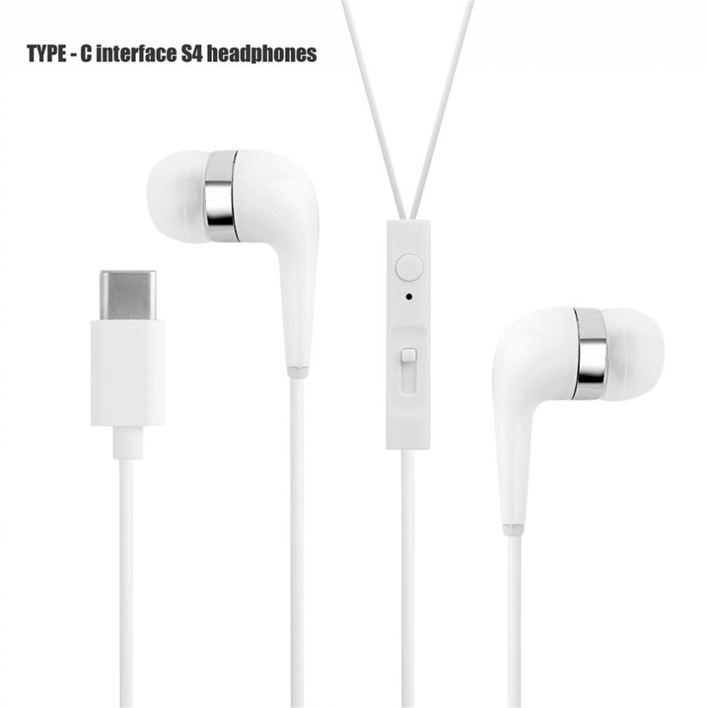c912dcce281 Type-C Earphone For Smartphone Digital USB Headphone Accessory Wired  Control In