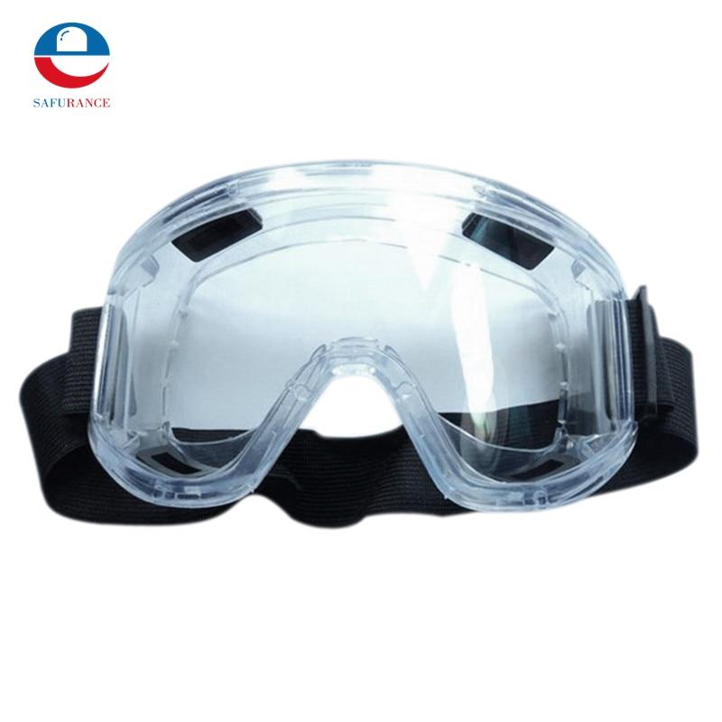 перчатки striking PC Lens Protective Glasses Splash Proof Eyes Safety Security Labor goggles Breather Valve Striking Resistant Midoni White