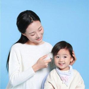 Image 2 - Xiaomi mitu dla dzieci elektryczna maszynka do strzyżenia włosów biały ceramiczny głowica do cięcia niski poziom hałasu profesjonalne IPX7 wodoodporne dzieci maszynka do włosów clipp
