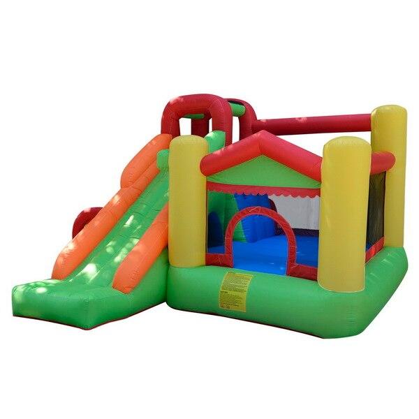 HTB1pbZVRpXXXXX5XXXXq6xXFXXXB - Arshiner Trampoline Bounce House With Inflatable Kids Slide without Blower