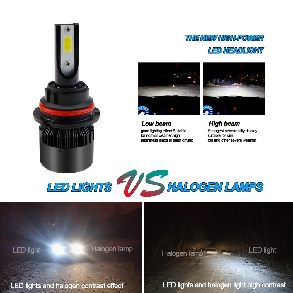 AOTOMONARCH Car Lights H7 H4 LED H1 H3 H8 H9 H11 9005 9006 9007 9008 880 881 H27 Automobiles AccessoiresLight LEDs Bulb EJ In Headlight BulbsLED From