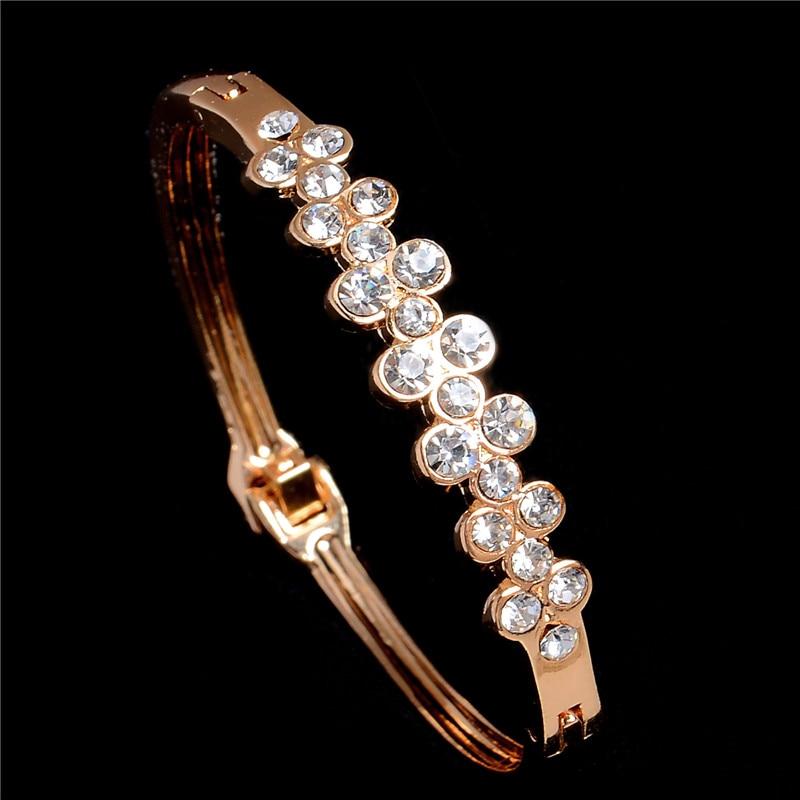 MINHIN Cuff Bracelets Rose...