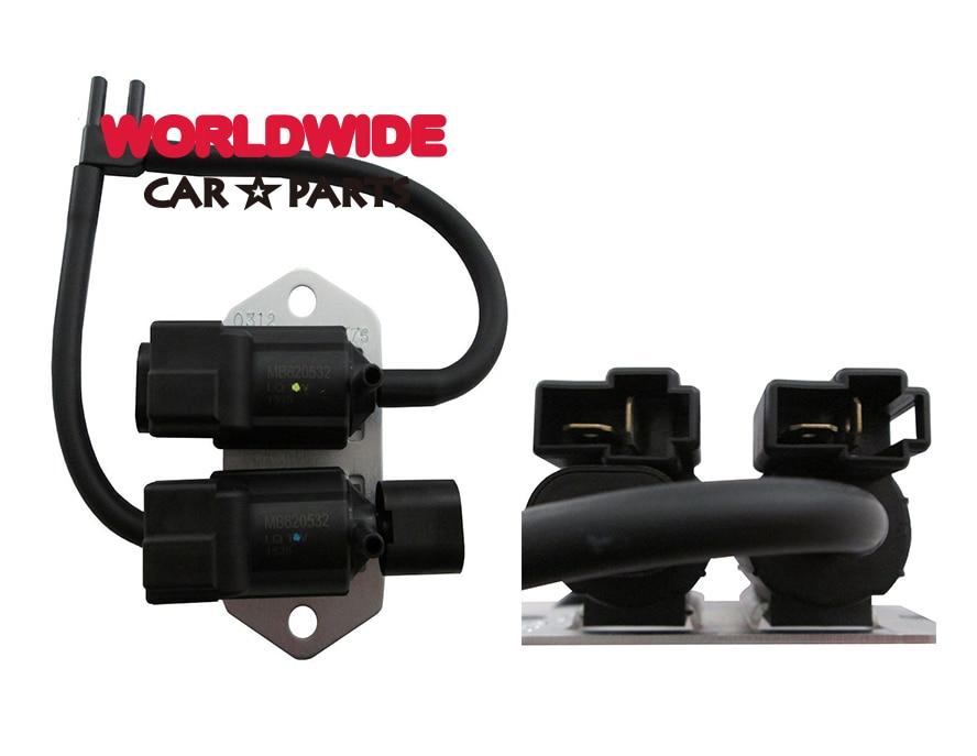 Free Shipping Vacuum Switch Solenoid Valve For Mitsubishi Pajero L200 L300 V43 V44 V45 K74T V73 V75 MB620532 K5T47776