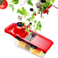Multi functional Vegetable Fruit Cutter Steel Blade Slicer Carrot Cheese Grater Wavy Slicer Kitchen Accessories As seen on TV