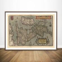 england map RETRO VINTAGE