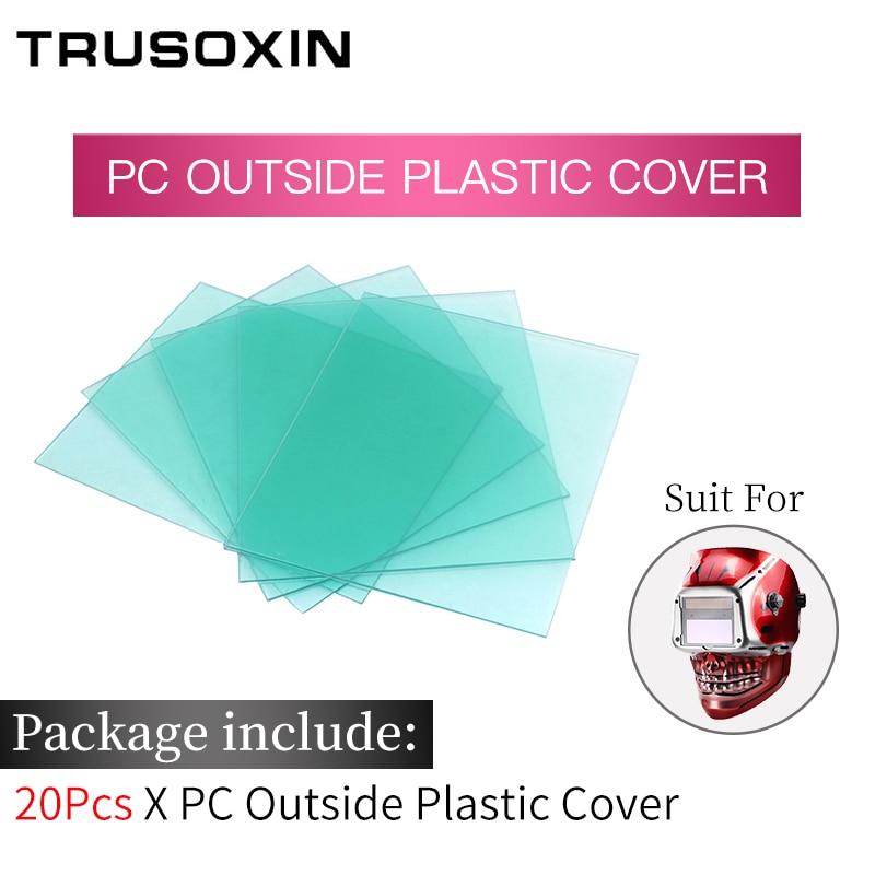 Солнечная батарея Li, внешний контроль, самозатемняющийся сварочный шлем/сварочные очки/Сварочная маска, Сварочная маска - Цвет: Outside PC Cover