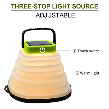 Portable Solar Camping Light  1