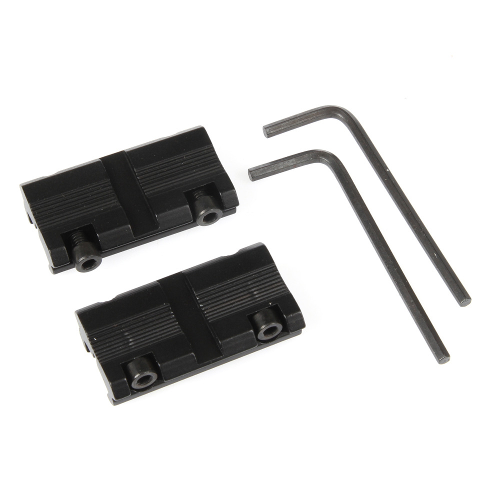 Rail Conversion 12mm To 20mm Adapter Converter Riser Base 12mm Dovetail To 20mm Scope Accessories For Hunting
