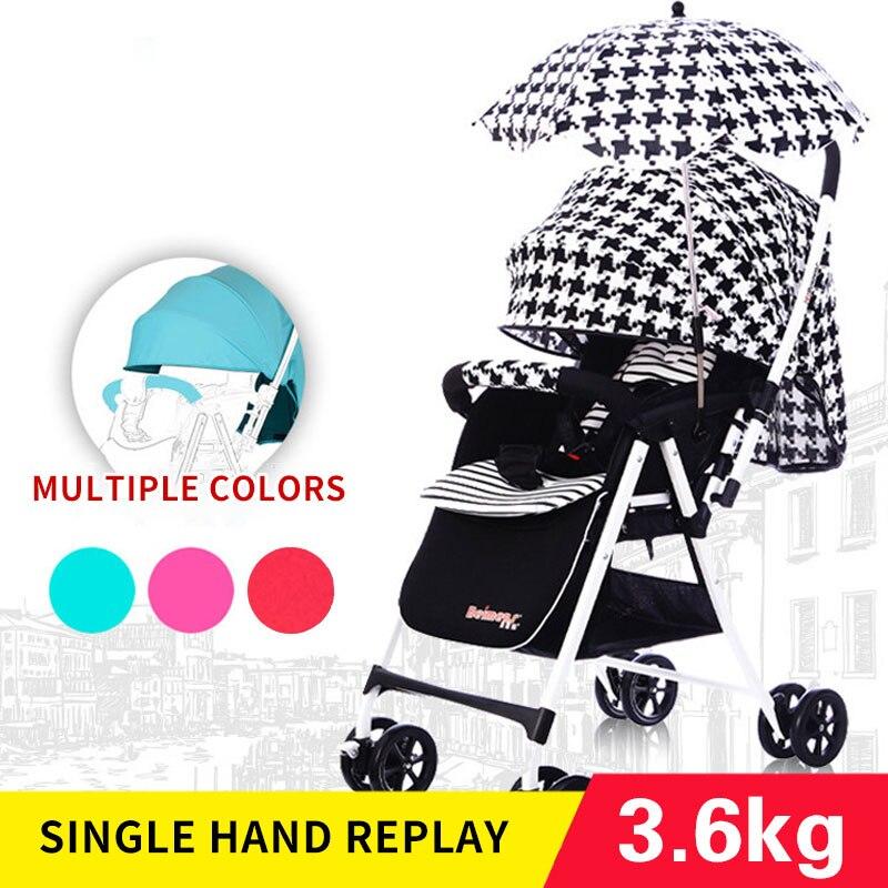 beimens baby stroller division ultra portable dual purpose umbrella car high landscape