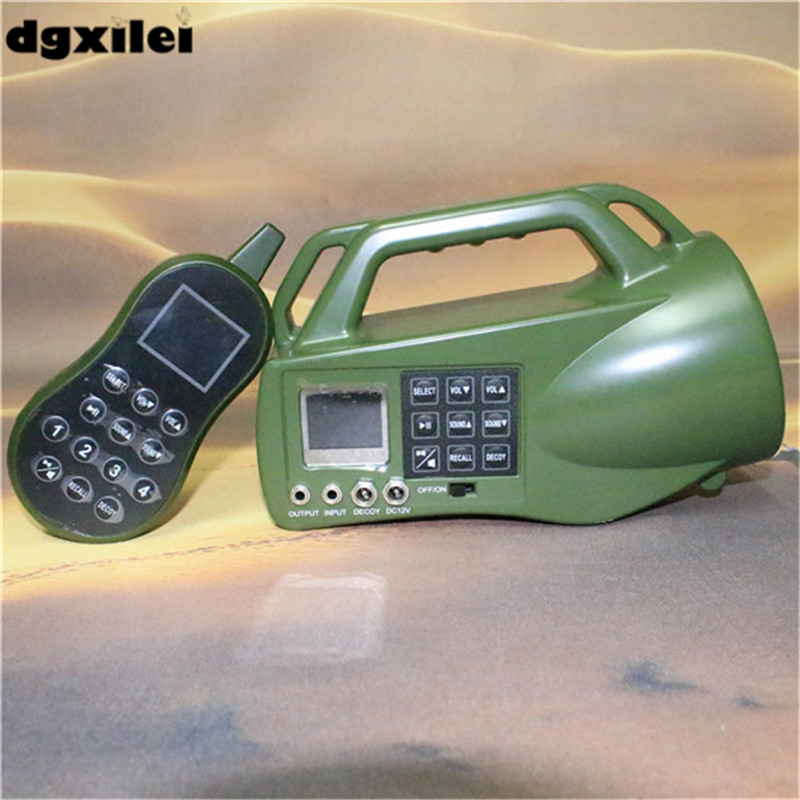 Protable professional 10w speakers remote control sound machine bird hunting mp3