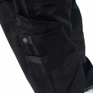 Image 5 - 2020 سراويل تقليدية جديدة التكتيكية العسكرية أكسفورد مقاوم للماء متعددة جيب بنطلون البضائع بانت حجم كبير ID632