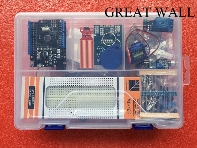 Versão KIT UNO R3 Atualizada do Starter Kit do kit RFID aprender Suíte LCD 1602 para arduino Com Varejo caixa