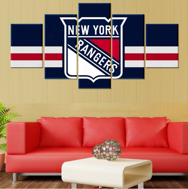 New York Ranges Canvas Prints 5 Pieces Painting Wall Art Home Decor ...