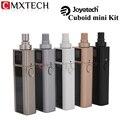 Original Cigarros Joyetech Cubóide Mini 80 W Caixa Mod Vape 2400 mAh Da Bateria com 5 ml Atomizador Kit Temperatura controle Vaporizador