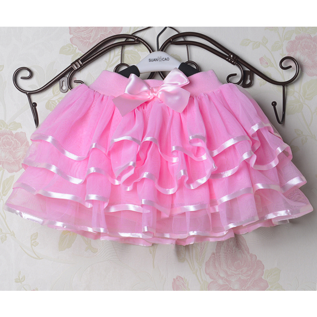 Girls Tutu, Mini Skirt With Cute Bow