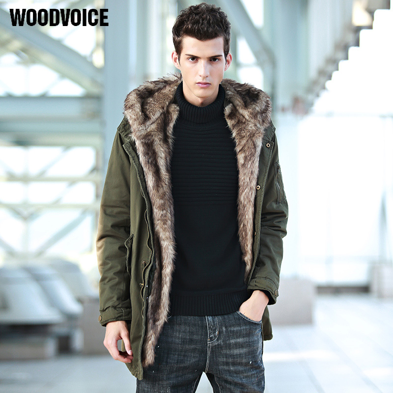 Coats Men Detachable Fur Hooded Warm Men Jackets Winter Jacket Men Plus Velvet Thick Outwears Parka Fleece Windproof Coat Male fashion detachable hooded thick jackets men warm winter jacket parka men 2017 loose mens coats overcoats windproof cotton parkas