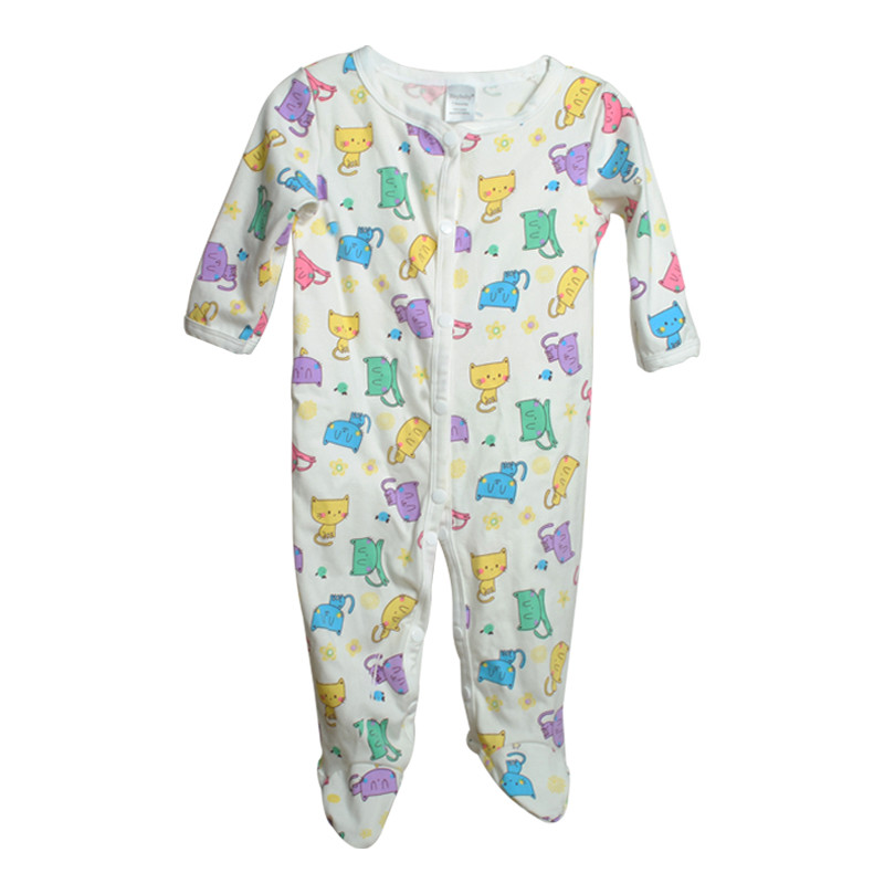 Brand Newborn Baby Clothes Cute Cartoon Baby Costume Girl Boy Jumpsuit Clothing Spring Autumn Cotton Romper Body Baby Clothes 19
