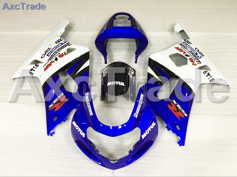 Комплекты мотоцикл Обтекатели для Suzuki GSXR системы GSX-Р 600 750 GSXR600 GSXR750 2001 2002 2003 К1 пластичной Впрыски ABS обтекатель комплект A720